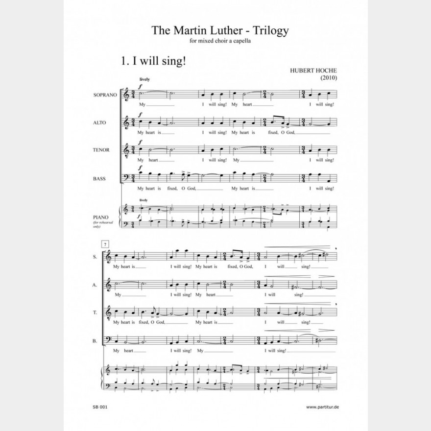 The Martin Luther Trilogy, 12`