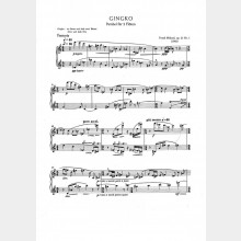 Gingko op. 23 Nr. 1, Parabel, 7` (2 Partituren)