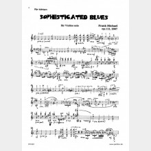 Sophisticated Blues op. 112, 7`